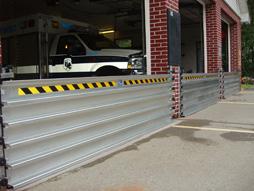garage door flood barrierPresray FastLogs Stackable Flood Barriers