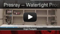 presray watertight products flood protection