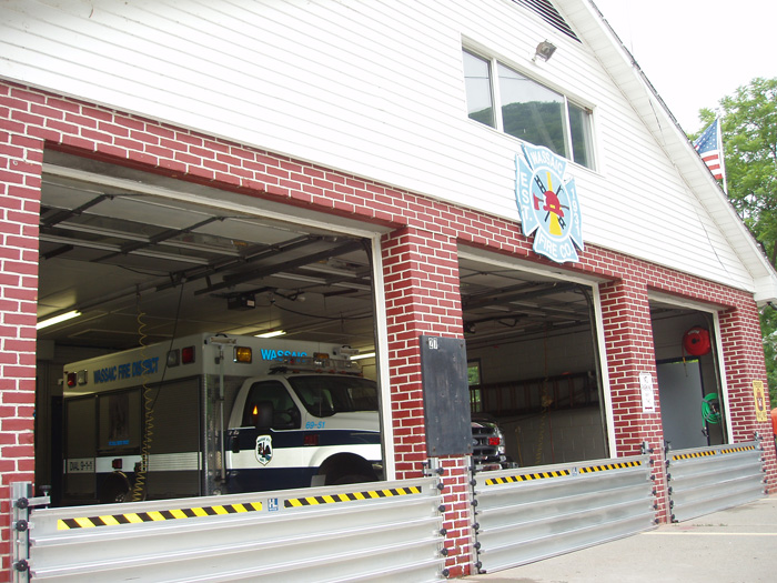 FastLogs deployed at the Wassaic, NY Firehouse.