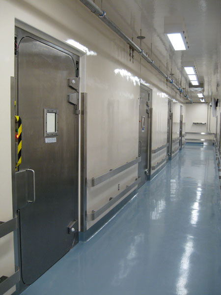 Presray APR laboratory doors with pneumatic seals. & Pneumatic Seal APR Doors