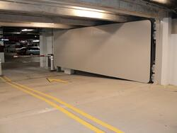 FB77 HIinged Flood Door TMC Parking 075