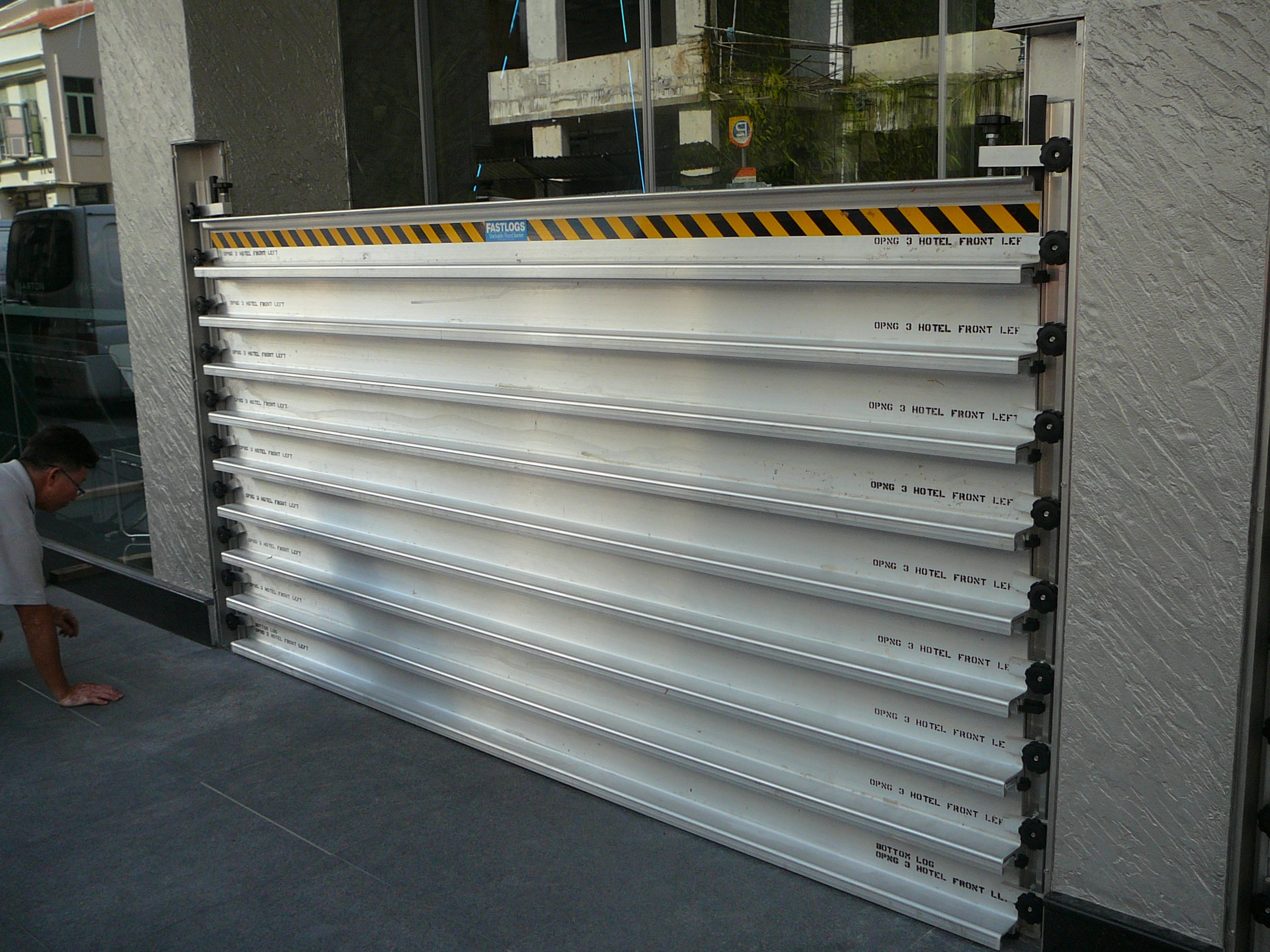 FastLogs installed in new hotel on Tyrwhitt Rd in Singapore. Photo: Fully deployed.