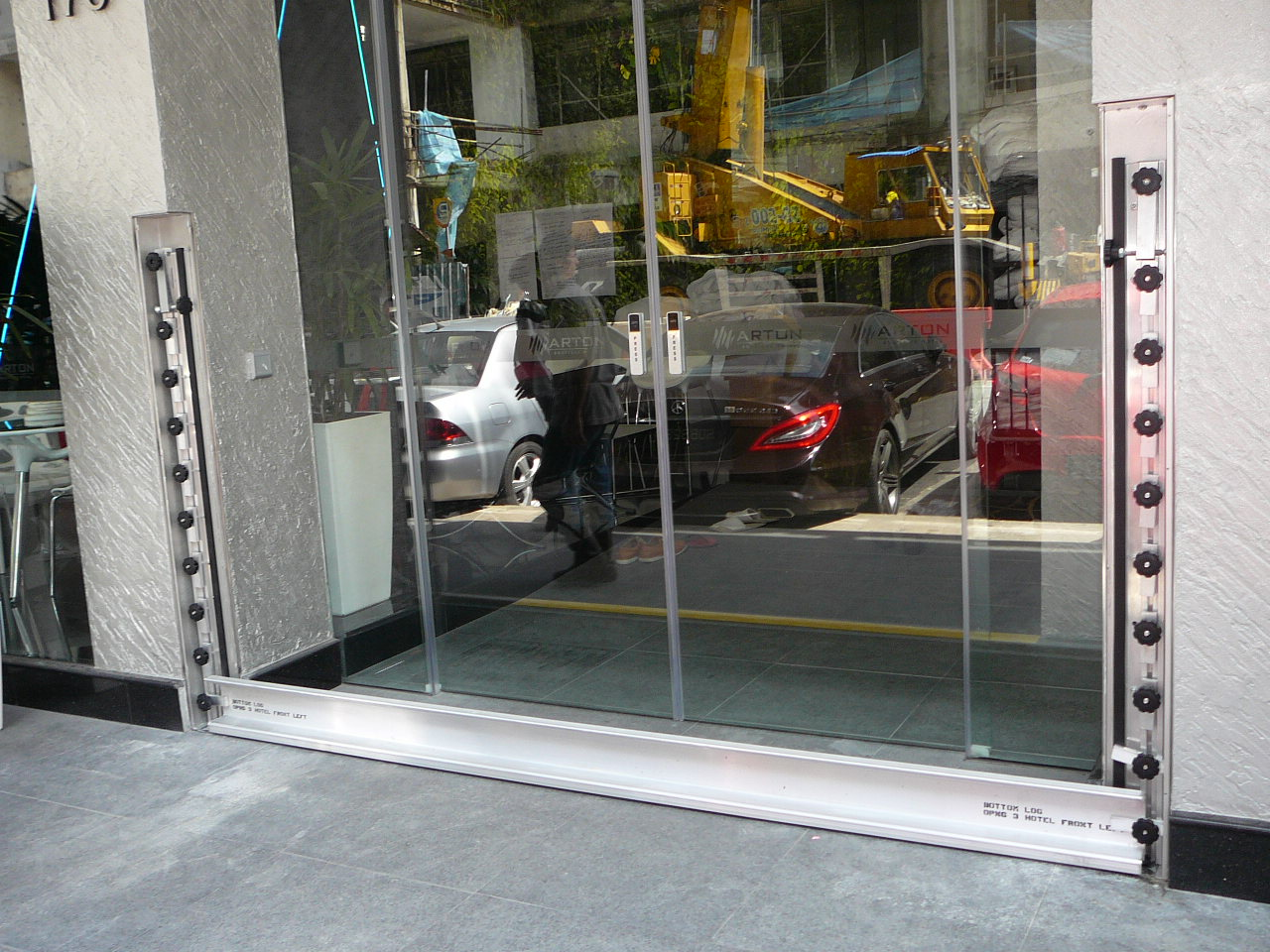 FastLogs installed in new hotel on Tyrwhitt Rd in Singapore. Photo: Deployment of FastLogs.