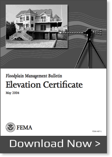 Elevation Certificate FEMA Bulletin 467