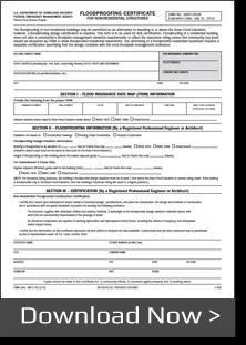 fema floodproofing certificate