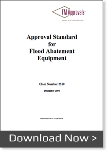 fm approvals flood abatement equipment