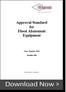 fm approvals flood abatement equipment